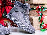 Стильные женские ботинки зимние