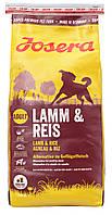 Josera Lamm & Reis  4 кг - Полнорационный корм для взрослых собак с рисом и ягнёнком