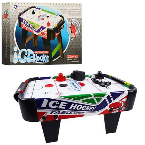 Хоккей ZC 3001+1 воздушный, на ножках, фото 2
