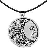 Кулон медальон солнце