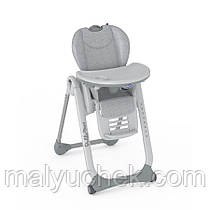 Крісло для годування Chicco Polly 2 Start Happy Silver