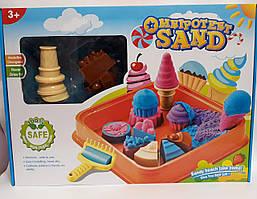 Кинетический песок Десерты с песочницей в коробке SY1223-3