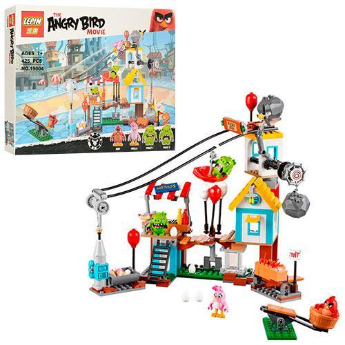 Конструктор Lepin 19004 Энгри бердс Разгром Свинограда (аналог Lego Angry Birds 75824)