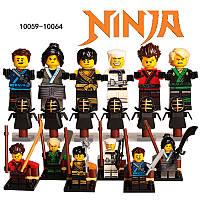 НИНДЗЯГО на Тренировке фигурки Игрушки NinjaGo Аналог LEGO N-0866