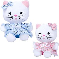 """Мягкая игрушка """"Модный котёнок"""" 35 см Копиця 00073-40"""