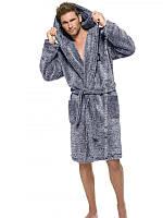 Чоловічий халат з капюшоном L&L BRUCE