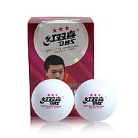 Мячи для настольного тенниса DHS 3*** 40+ (6 шт.)