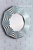 Зеркало настенное Tallinn серебряное