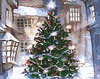 """Картина по номерам """"Новый год"""" 40*50см"""
