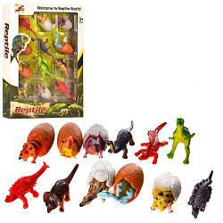 Динозавры KL01A (96шт) 12шт, от 6см, в кор-ке, 22,5-30-3,5см