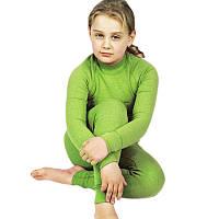 Детское теплое термобелье Radical Snowman (original), зимнее, комплект, зелёный