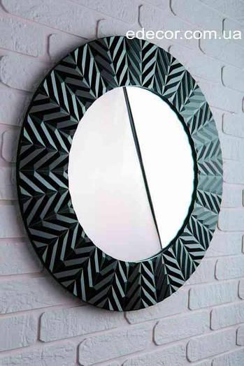 Зеркало настенное Bucharest черное