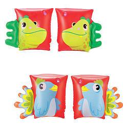 BW Нарукавники 32115 (36шт) 23-15см, 2 вида (попугай, дракон)