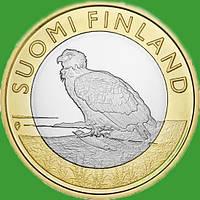 Финляндия 5 евро 2014 г. Провинция Аланды - орел.