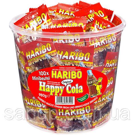 Хэппи Кола Харибо Haribo 980 гр 100 шт, фото 2