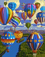 """Картина по номерам """"Воздушные шары"""""""