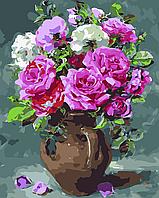 """Картина по номерам """"Восхитительные розы"""" 40*50см, фото 1"""