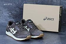 Кроссовки мужские Asics gel замшевые коричневые 41р, фото 2