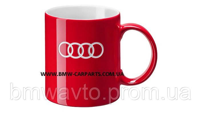 Фарфоровая кружка Audi Porcelain Mug, Red