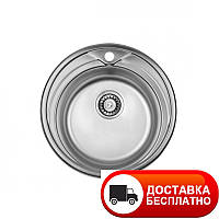 Кухонная мойка ULA 7109 ZS Micro Decor 08 (мойка 510 нерж.)