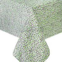 """Скатерть на стол Прованс """"Цветы Олива"""" 220х140 см (002152)"""