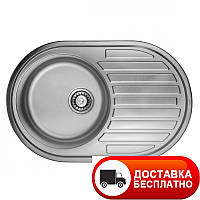 Кухонная мойка ULA 7108 ZS Micro Decor 08 (мойка 7750 нерж.)