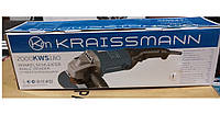 Болгарка угловая шлифмашина Kraissmann 2000-KWS-180, фото 3