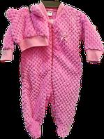 человечек  с шапочкой розовый