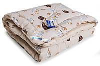 Одеяло шерстяное зимнее Барашка Руно 105*140см