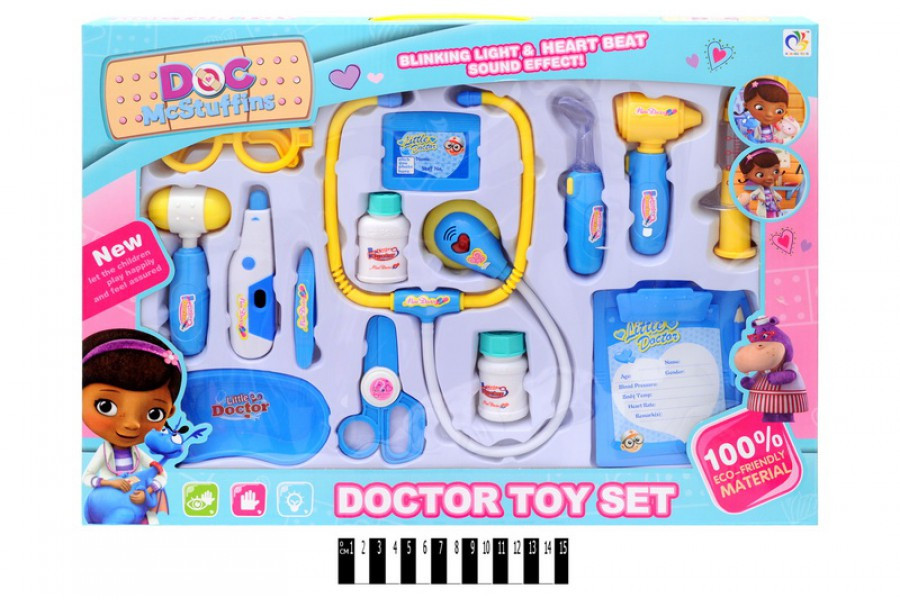 Детский набор доктора Доктор Плюшева 6889-83А