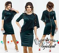 Платье батал вечернее 536 Багет