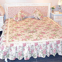 """Покрывало Прованс """"Large Pink Rose"""" 160х200 см (003707)"""