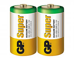 Батарейка GP 13A-S2 щелочная  LR20, D