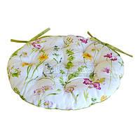 "Подушка на стул Прованс ""Living Весна"" D-40 см (001040)"