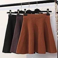Женская красивая юбка на резинке (3 цвета), фото 1