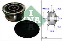 Механизм свободного хода генератора OPEL,RENAULT (Производство Ina) 535 0048 10, AEHZX