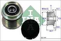 Механизм свободного хода генератора RENAULT, VOLVO (Производство Ina) 535 0028 10, AEHZX