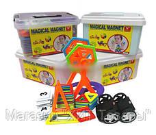 Магнитный конструктор Magical Magnet 72 детали, фото 2