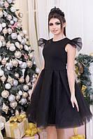 Нарядное платье с пышной юбкой  из фатина
