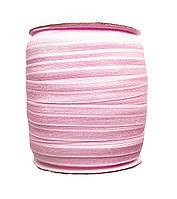 Резинка-бейка Розовая для повязок 1.5 см - 5 метров