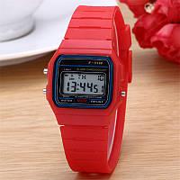 Мужские часы Casio Classic retro red