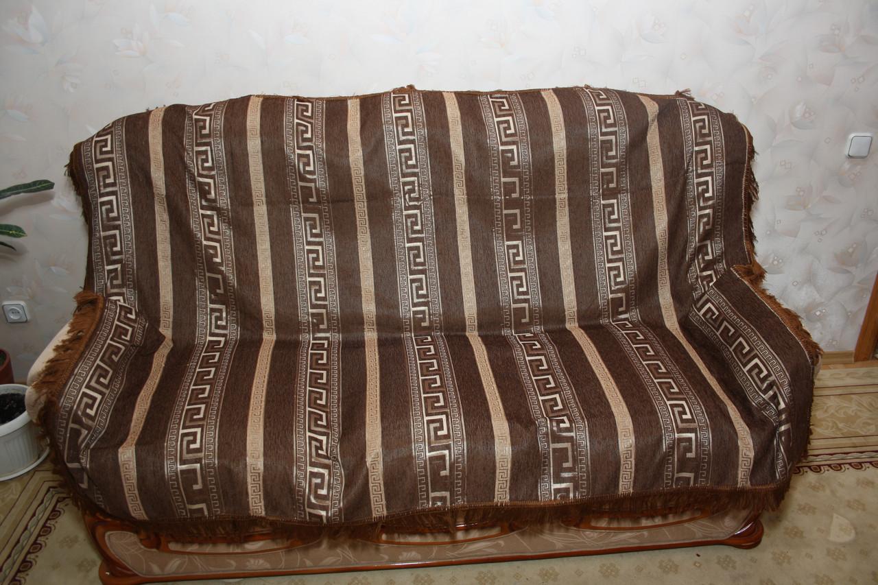 Египет комплект покрывала (дивандеки) на полутороспальную кровать коричневого цвета