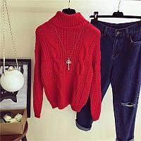 Женский шикарный теплый свитер (4 цвета), фото 1