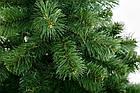 ЕЛЬ ИСКУССТВЕННАЯ ЕВРОПЕЙСКАЯ 2,5  м , ЗЕЛЕНАЯ ПВХ , фото 3
