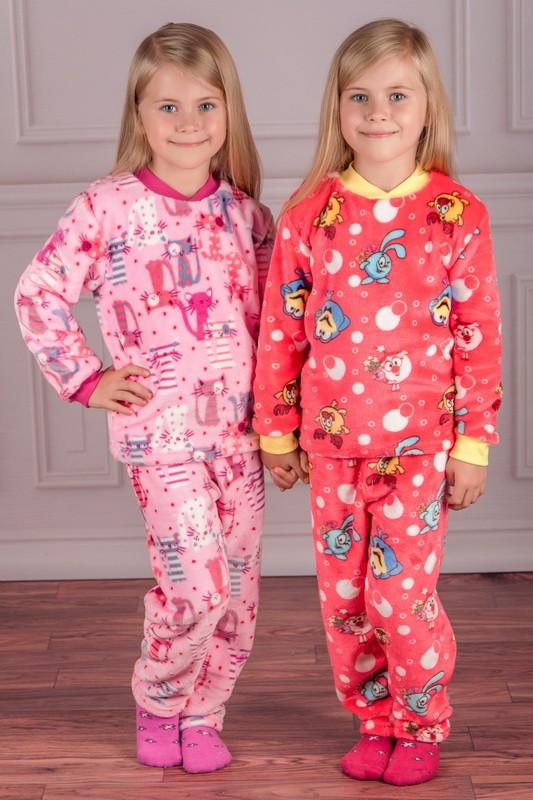 2d8067639eaa Теплая махровая пижама для девочки (80, 86 см) по приятной цене с ...