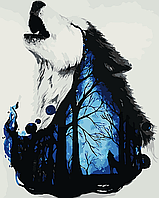 """Картина по номерам """" В гуще леса"""""""
