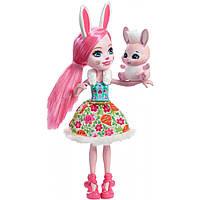 Яркая оригинальная кукла Bree Bunny Doll для девочки, Enchantimals
