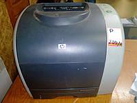 Цветной лазерный принтер HP COLOR LaserJet 2550N с картриджами