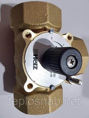 """Триходовий змішувальний кран HERZ 1/2"""" DN15 (Kvs4 М3/Год), фото 2"""