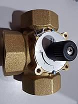 """Триходовий змішувальний кран HERZ 1/2"""" DN15 (Kvs4 М3/Год), фото 3"""